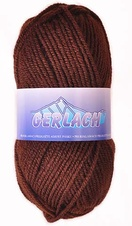 Knitting yarn Gerlach 1182 - brown