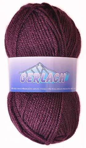 Knitting yarn Gerlach 2303 - purple - Yarn Gerlach 2303