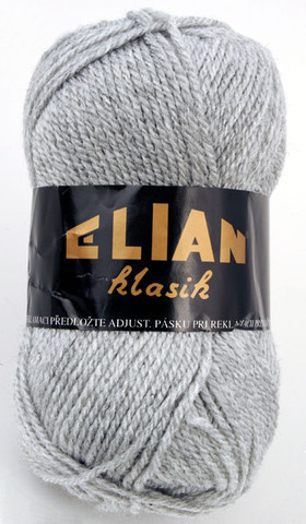Knitting yarn Klasik 195 - grey - Yarn Klasik 195