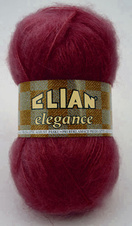 Knitting yarn Elegance 6389 - red