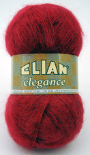 Knitting yarn Elegance 174 - red