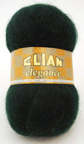 Knitting yarn Elegance 204 - green - Yarn Elegance 204