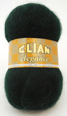 Knitting yarn Elegance 204 - green