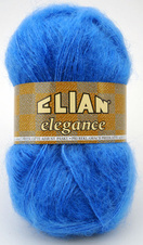 Knitting yarn Elegance 1256 - blue