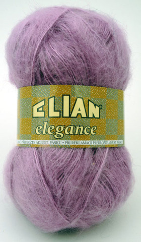 Knitting yarn Elegance 1355 - purple - Yarn Elegance 1355