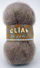 Knitting yarn Elegance 1827 - brown