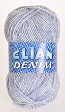 Strickgarn Denim 776 - blau