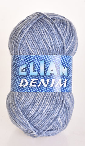 Knitting yarn Denim 777 - blue - Yarn Denim 777