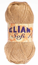 Knitting yarn Sofi 125 - brown