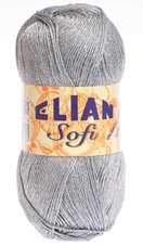 Knitting yarn Sofi 255 - grey