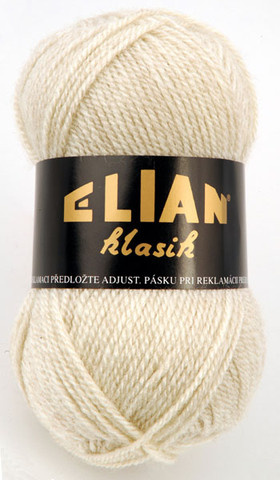 Knitting yarn Klasik 240 - beige - Yarn Klasik 240