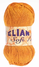 Knitting yarn Sofi 4876 - orange