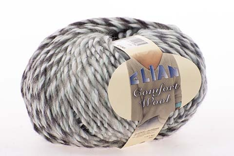 Knitting yarn Comfort Wool 460 - grey - Comfort Wool 459