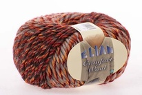 Knitting yarn Comfort Wool 461 - red