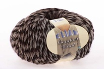 Knitting yarn Comfort Wool 463 - brown