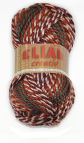 Knitting yarn Creativ 035 - brown