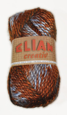 Knitting yarn Creativ 85800 - brown