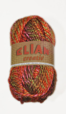 Knitting yarn Creativ 85839 - orange