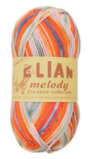 Strickgarn Melody 292 - orange