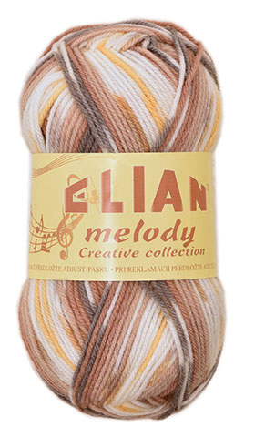 Strickgarn Melody 287 - brown - Garn Melody 287