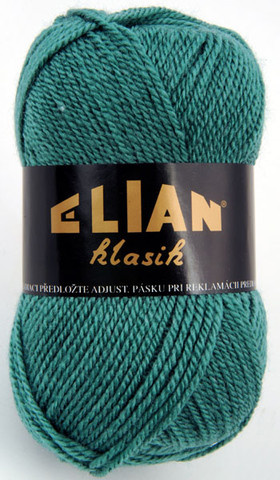 Knitting yarn Klasik 516 - green - Yarn Klasik 516