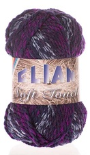 Knitting yarn Soft Touch 604 - purple