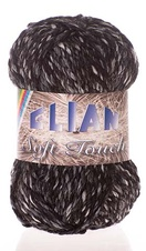 Knitting yarn Soft Touch 605 - black
