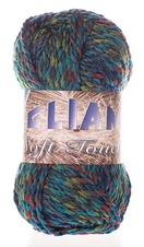 Knitting yarn Soft Touch 664 - blue