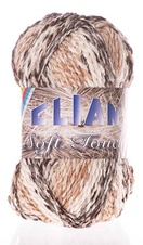 Knitting yarn Soft Touch 7309 - brown
