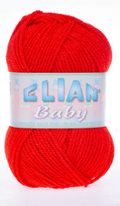 Knitting yarn Baby 207 - red