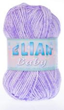 Knitting yarn Baby 707 - purple