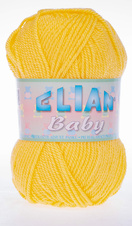 Knitting yarn Baby 2857 - yellow
