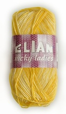 Knitting yarn Nicky Ladies 471 - yellow