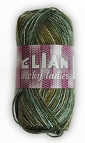 Strickgarn Nicky Ladies 444 - grün