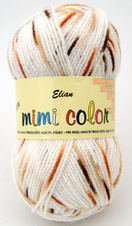Knitting yarn Mimi Color 287 - white