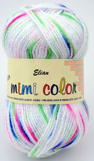 Knitting yarn Mimi Color 291 - white
