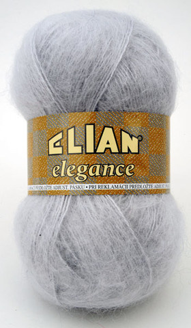 Knitting yarn Elegance 2549 - grey - Yarn Elegance 2549
