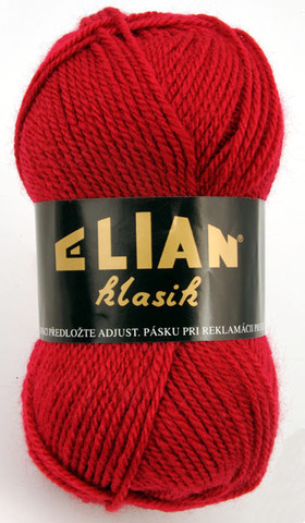Knitting yarn Klasik 1426 - red - Yarn Klasik 1426