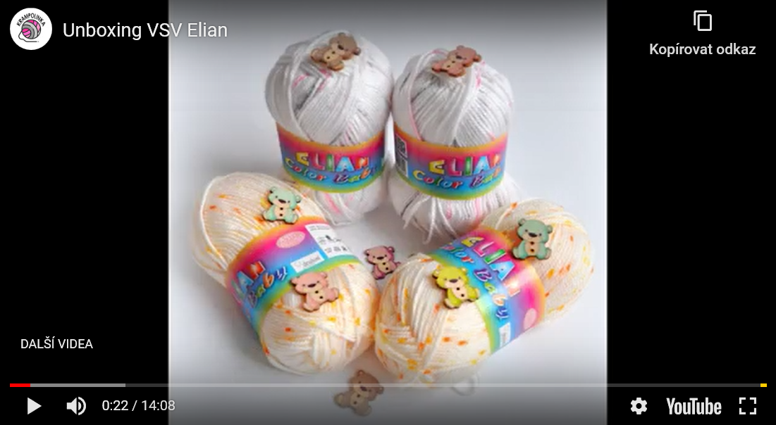 Yarn unboxing from Elian.eu