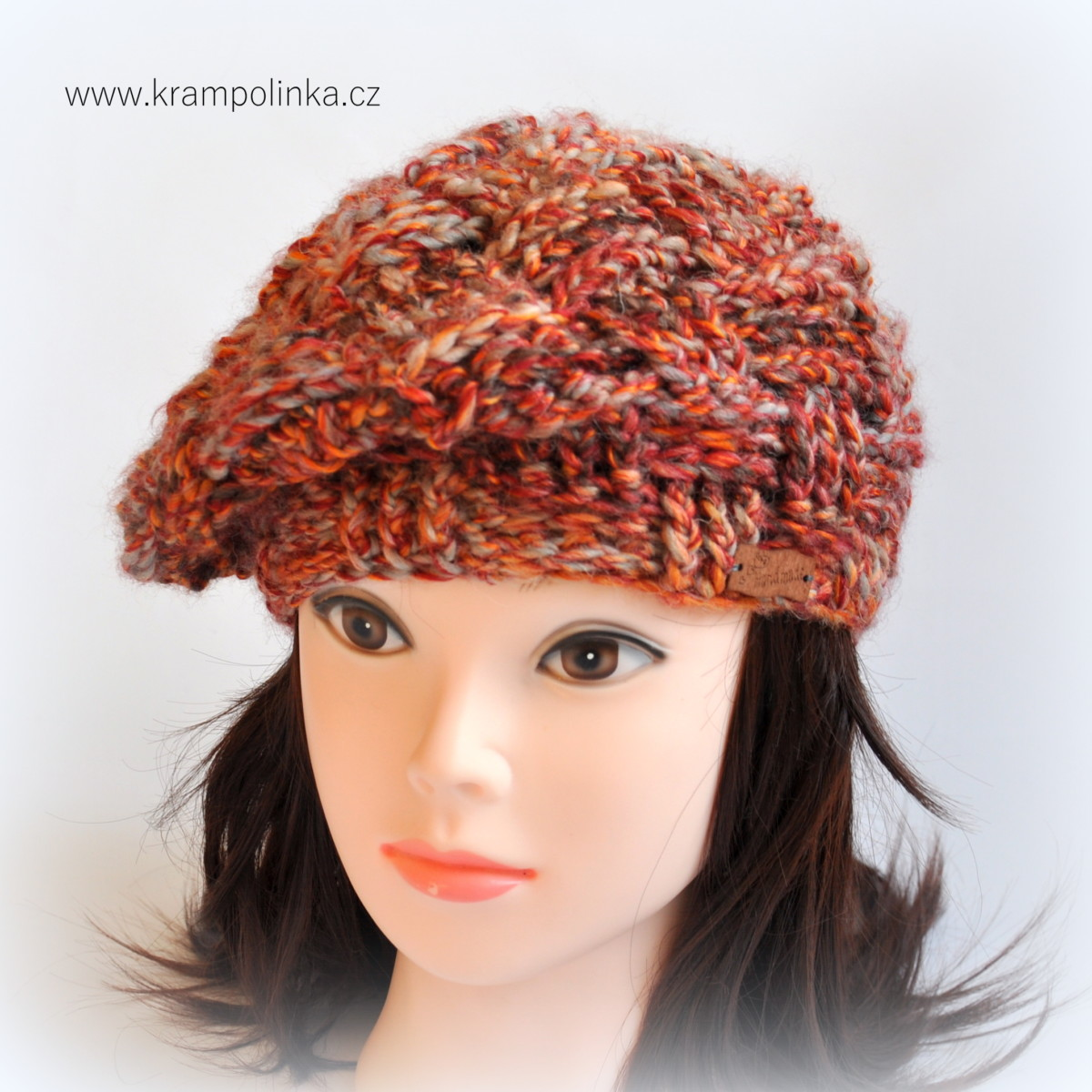 Crochet Beret from Elian Comfort wool